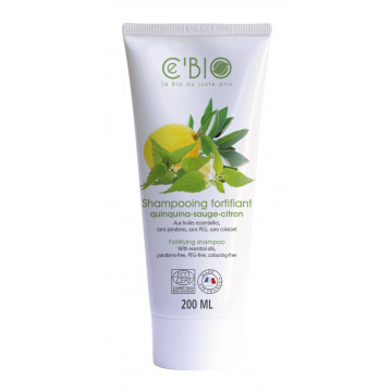 Bio SHAMPOOING FORTIFIANT sans silicone 200 ml